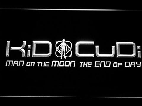 Kid Cudi Man On The Moon End of Day LED Neon Sign