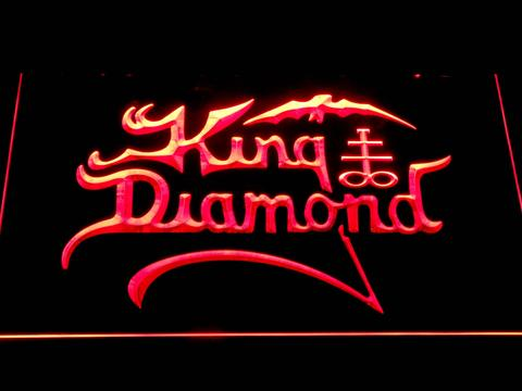 King Diamond LED Neon Sign