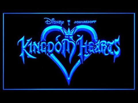 Kingdom Hearts Sora Video Games LED Neon Sign