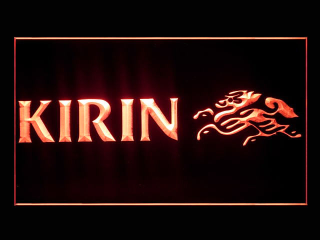 Kirin Logo Bar Pub Beer Store Neon Light Sign