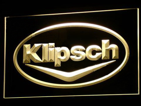 Klipsch LED Neon Sign
