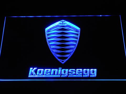 Koenigsegg LED Neon Sign