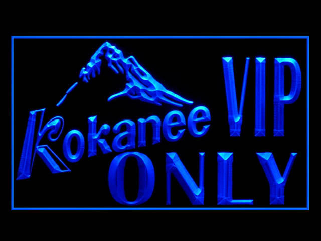 Kokanee VIP ONLY Beer Neon Light Sign