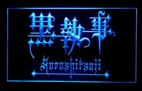 Kuroshitsuji For Game Room LED Neon Sign