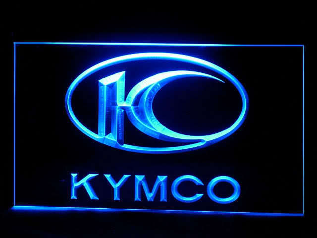 Kymco Motorcycle Logo LED Sign
