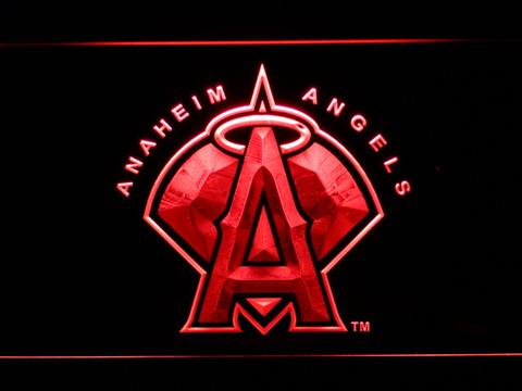 Los Angeles Angels of Anaheim 2002-2004 Logo LED Neon Sign