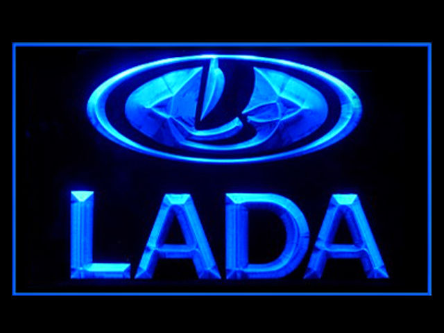 Lada Russian LED Light Sign