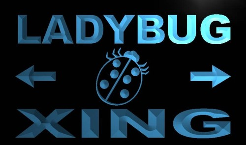 Ladybug Xing Neon Light Sign