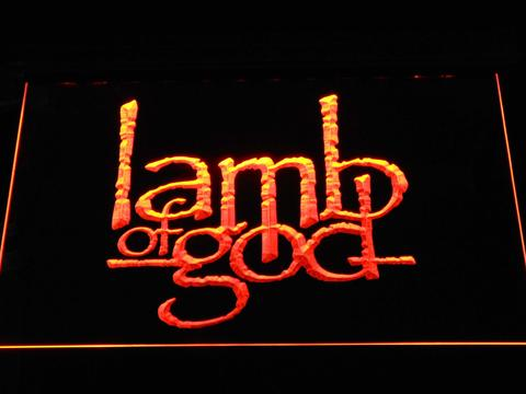 Lamb of God LED Neon Sign