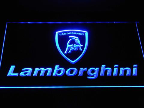 Lamborghini Wordmark LED Neon Sign