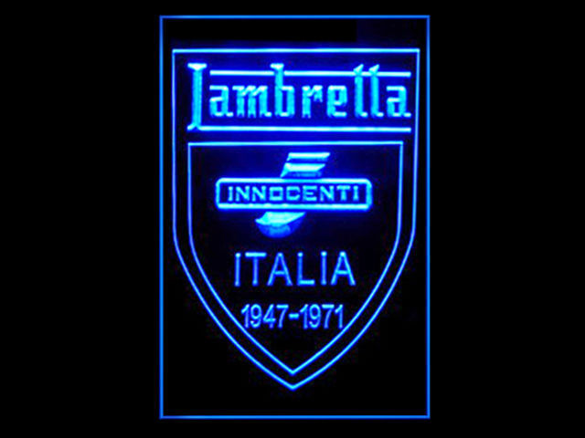 Lambretta Innocenti LED Sign