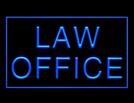 Law Office Consultant LED Neon Sign