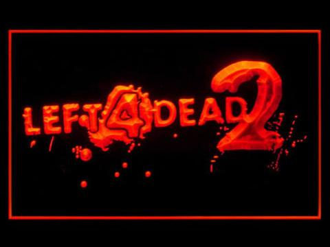 Left 4 Dead 2 LED Neon Sign