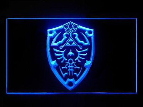 Legend Of Zelda Link Shield LED Neon Sign