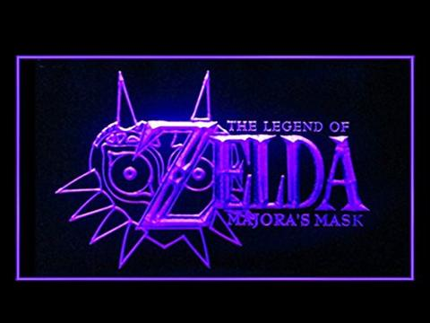 Legend Of Zelda Majora's Mask LED Neon Sign