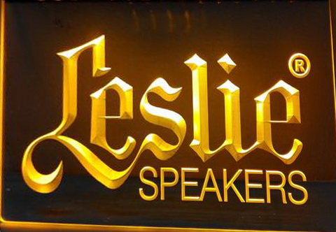 Leslie Speakers LED Neon Sign