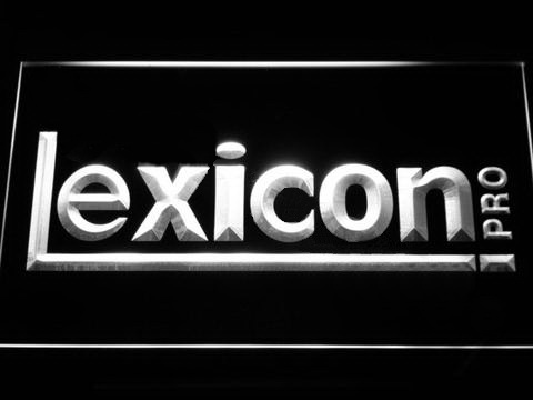 Lexicon Pro LED Neon Sign