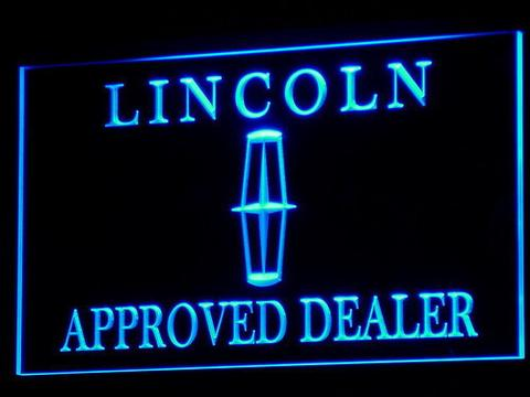 Lincoln Approved Dealer LED Neon Sign