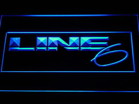 Line 6 LED Neon Sign
