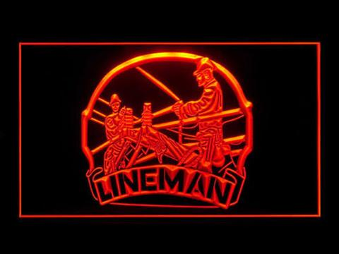 Lineman LED Neon Sign