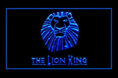 Lion King LED Neon Sign