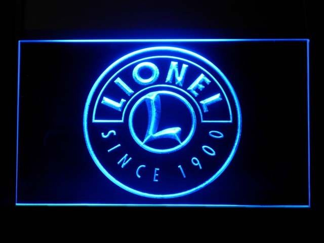 Lionel Train LED Light Sign