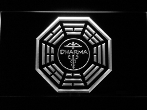 Lost Dharma Initiative The Staff LED Neon Sign