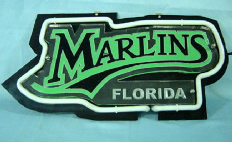 MARLINS FLORIDA Neon Sign