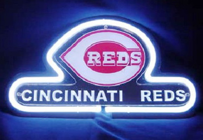 MLB Cincinnati Reds Neon Sign
