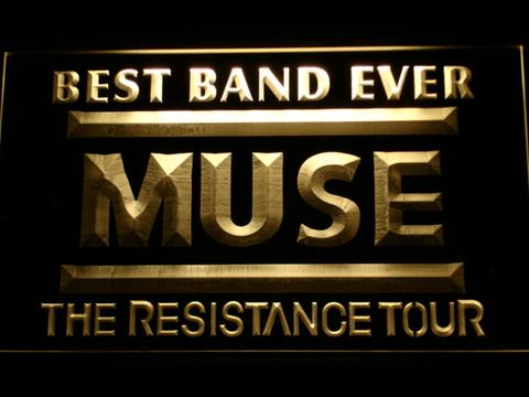 MUSE Best Band Ever LED Neon Sign