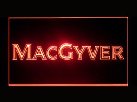 Macgyver LED Neon Sign