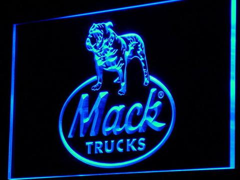 Mack Old Logo LED Neon Sign