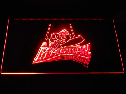 Mackay Cutters LED Neon Sign