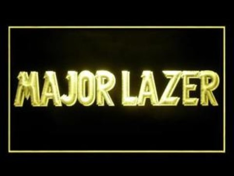Major Lazer LED Neon Sign