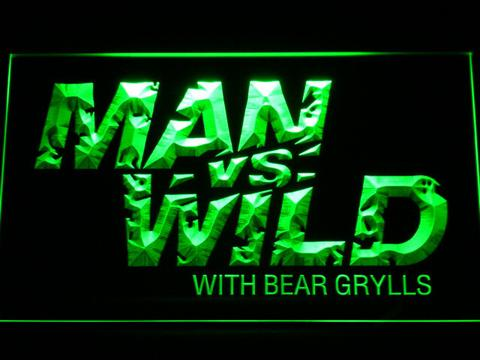 Man vs Wild with Bear Grylls LED Neon Sign