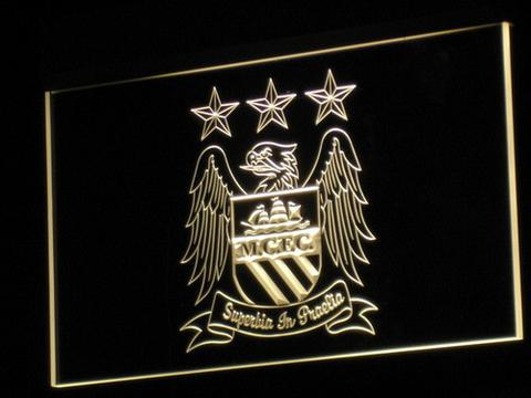 Manchester City Football Club LED Neon Sign