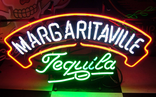 Margaritaville Tequila Classic Neon Light Sign 20x11