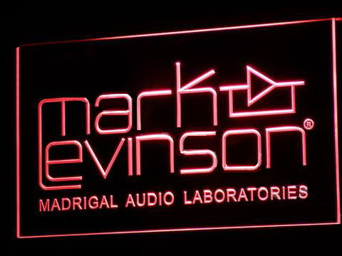 Mark Levinson LED Neon Sign