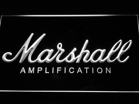 Marshall Guitars Bass Amplifier LED Neon Sign