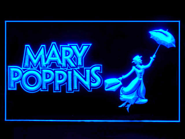 Mary Poppins Neon Light Sign