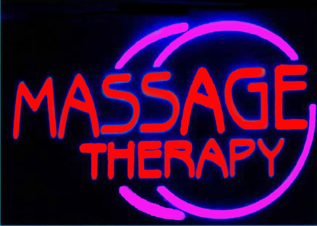 Massage Therapy Neon Sign 1