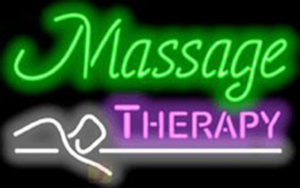 Massage Therapy Neon Sign2