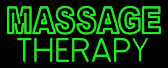 Massage Therapy Neon Sign4