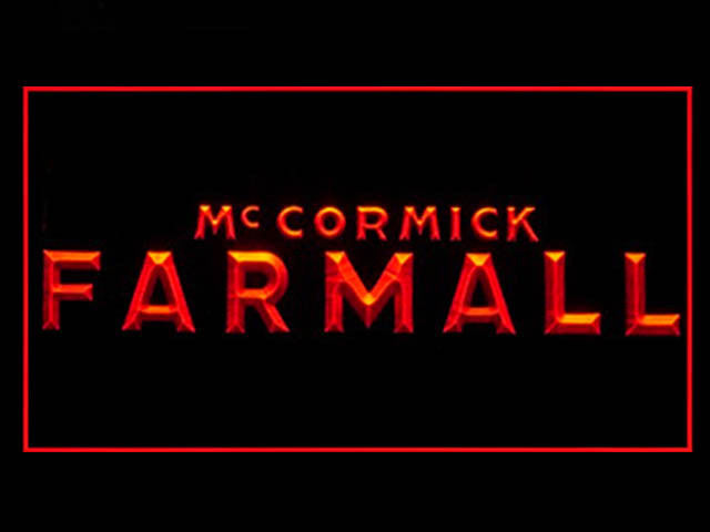 Mc Cormick Farmall LED Sign