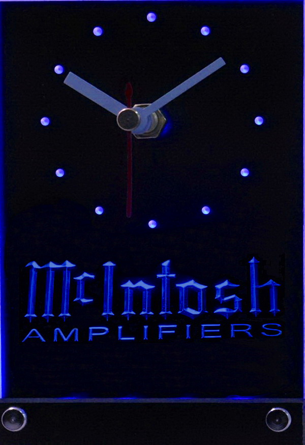 McIntosh Amplifiers Led Table Clock