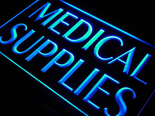 Medical Supplies Agent Display Neon Light Sign