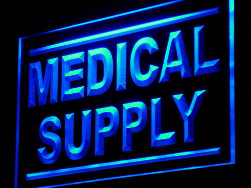 Medical Supply Shop Display Adv neon Light Sign