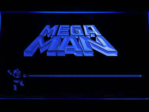Mega Man LED Neon Sign