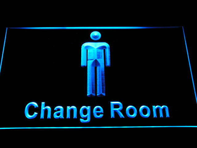 Men Male Boy Toilet Washroom Restroom Display Neon Light Sign