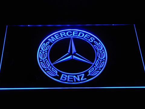 Mercedes Benz Old Logo LED Neon Sign